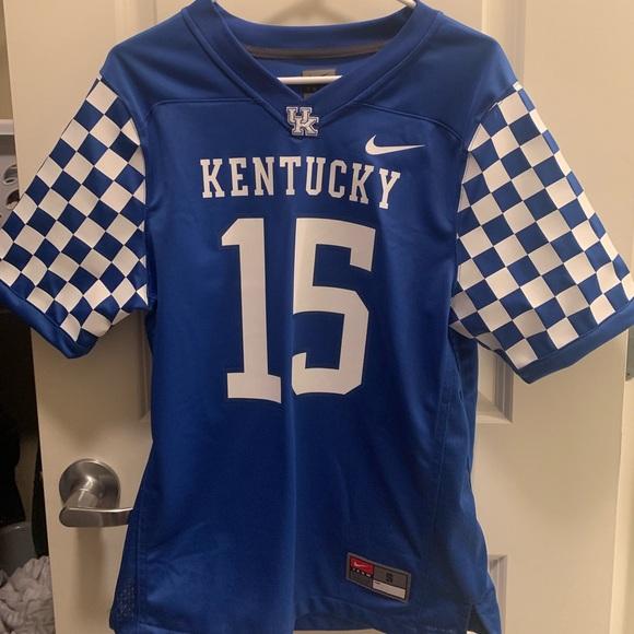 save off af4d0 d790a University of Kentucky adult football jersey